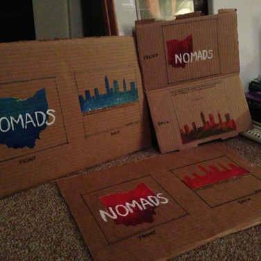 Commission: Handmade album covers