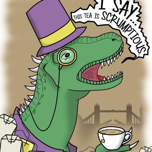 Sir Tea-Rex