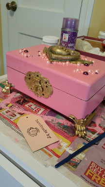 Gift: Sailor Moon themed jewlery box