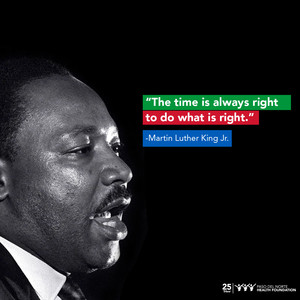 Thank You For Your Sacrifices; Happy Birthday Dr. King