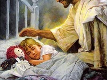Voor altijd mijn liefste meisje... Jezus Zelf zorgt voor haar...