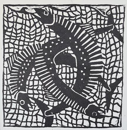 Mackerel in a Net
