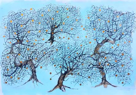 Dancing Apple Trees