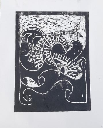 Mackerel in the Deep