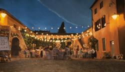 """Wedding party at Villa Catignano"""