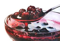 _Alcoholic red_ acrilico su tela, cm