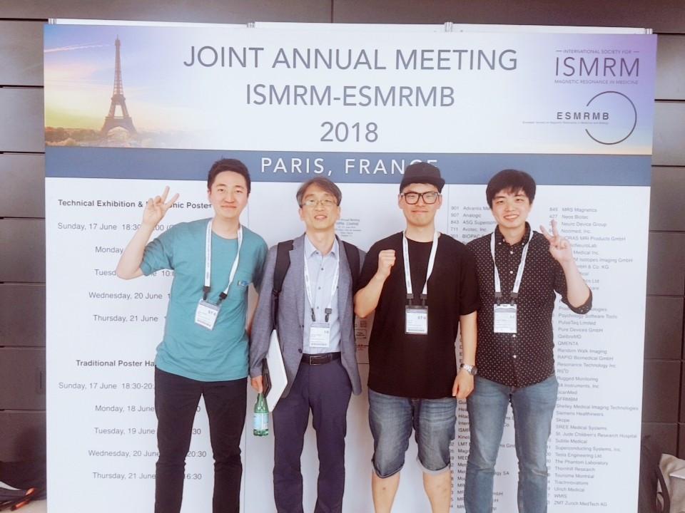 2018 ISMRM in Paris