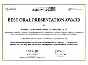ASMRM_ICMRI_Best_Oral_PT_Award_Seokwon_L