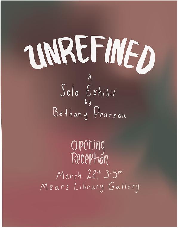 Unrefined poster