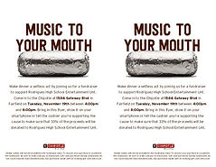 Fundraiser - Chipotle - General Wide-Fly