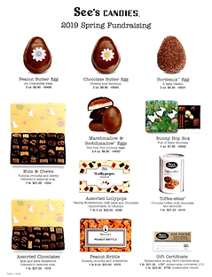 2018-2019 - Fundraiser - See's Candies S