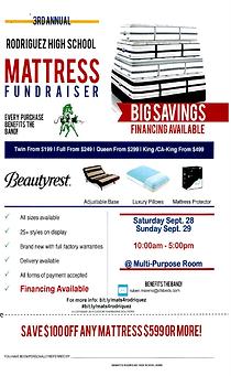 2019-2020 - Mattress Fundraiser - Mini F