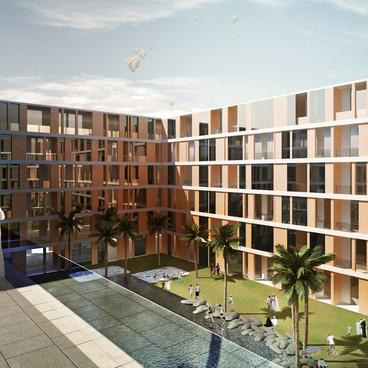 Bausher residential complex