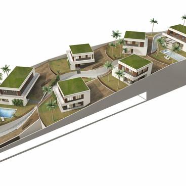 Qurm Hills villas