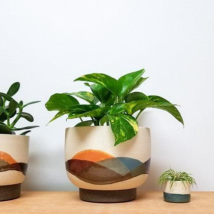 Landscape Plant Pot: Large Bowl