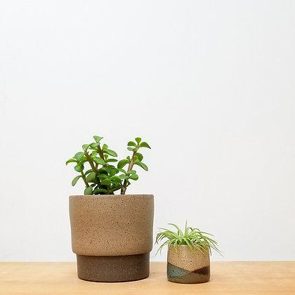 Sand Dunes Plant Pot: Small Raw