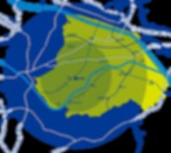 iMARe|サービス提供地域マップ