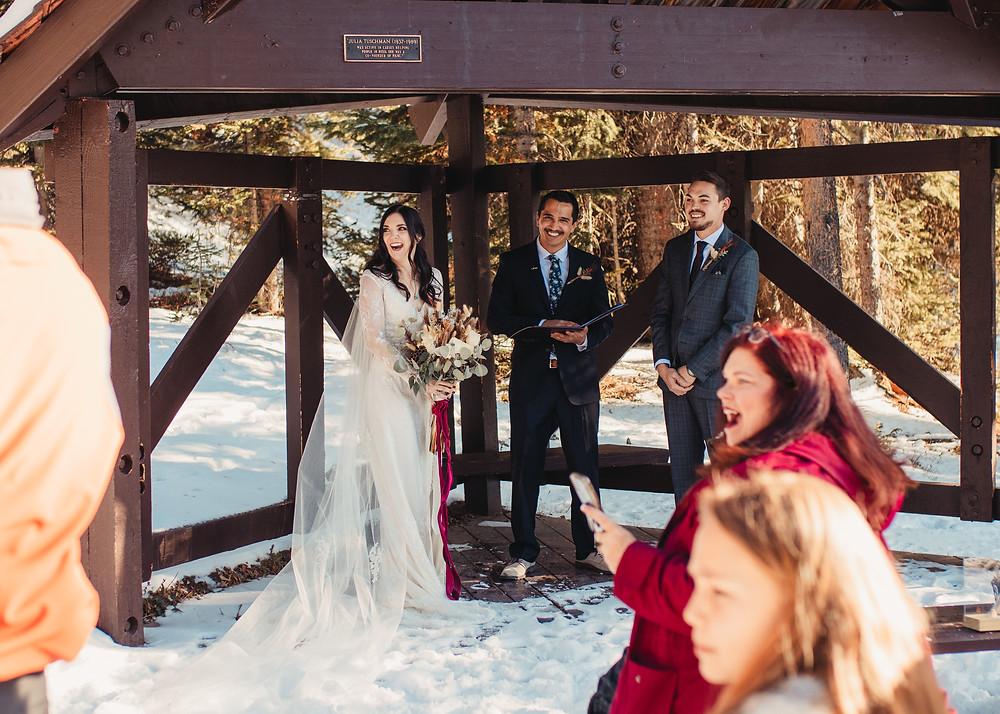 Julia's Deck Wedding Ceremony