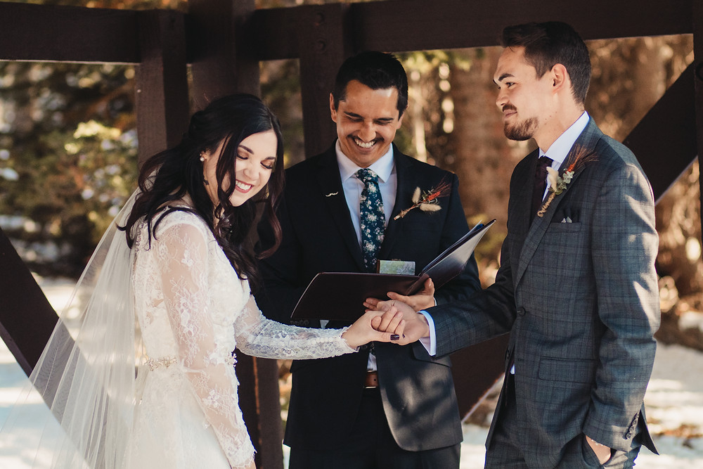 White River National Forest Wedding Ceremony