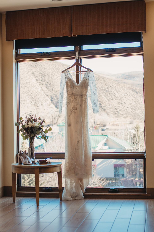 Long Sleeved Wedding Dress - Avon, Colorado