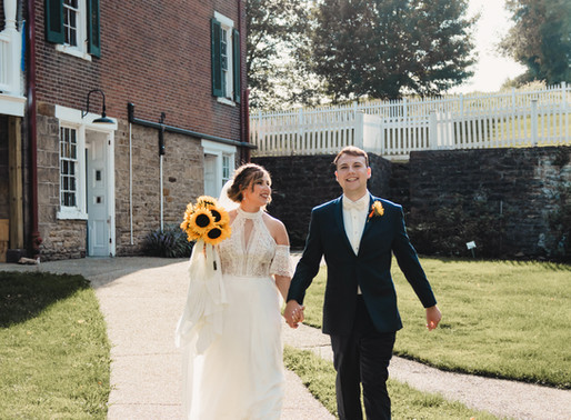 Intimate Wedding at West Overton Village