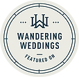 Wandering Weddings Badge - Pittsburgh Pennsylvania Wedding & Elopement Photographer - Wild North Weddings