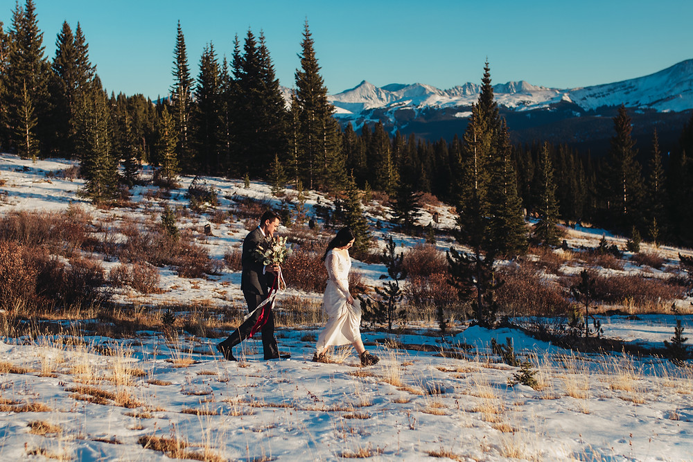 Rocky Mountain Forest Elopement