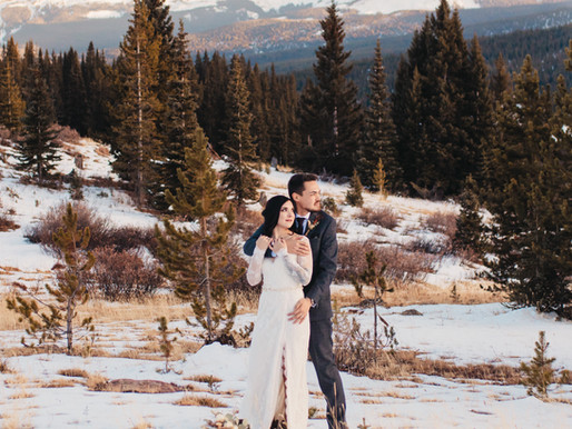 Colorado Elopement at Julia's Deck in White River National Forest