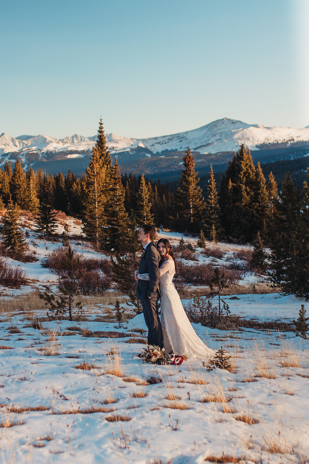White River National Forest Wedding - Photographer