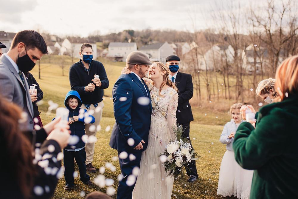 Reading Pennsylvania Elopement - Photographer: Wild North Weddings