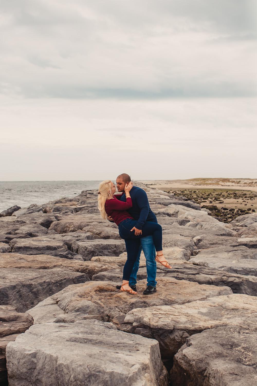Barnegat Light House Engagement Session - East Coast Wedding & Elopement Photographer