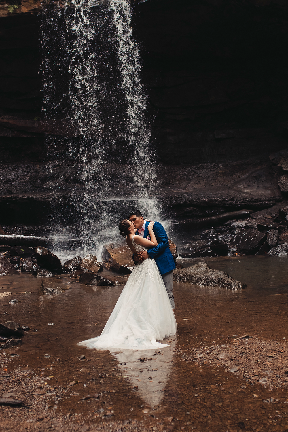 Ohiopyle State Park Adventure Wedding & Elopement - Pittsburgh Pennsylvania elopement Photographer