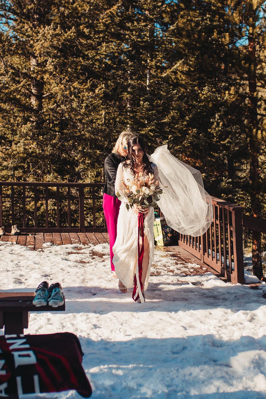 Julia's Deck Wedding Ceremony - Colorado