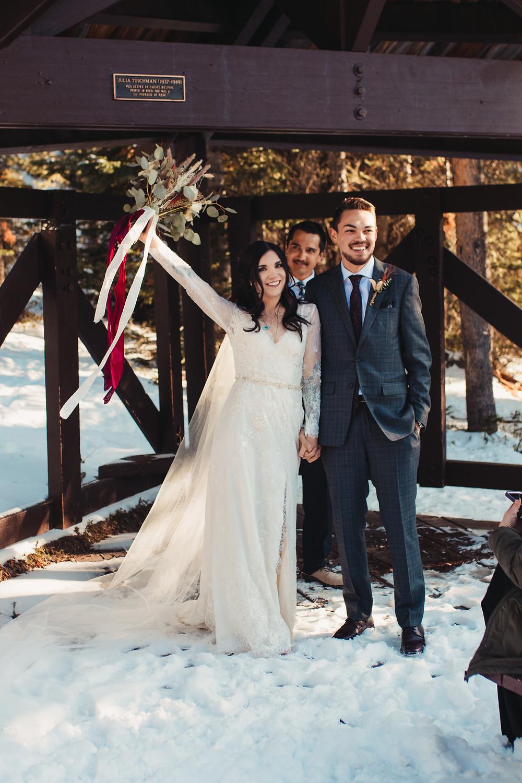 Avon, Colorado Intimate Wedding