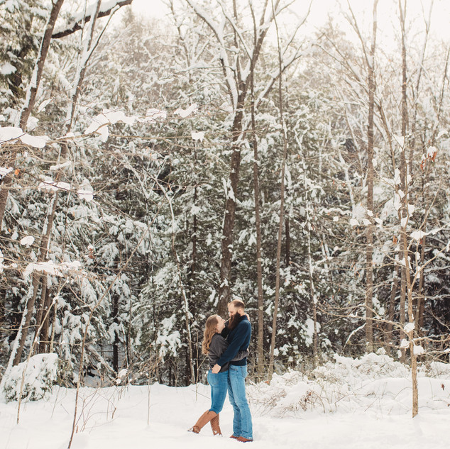 Pittsburgh Winter Engagement Session