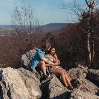 Hawk Mountain Pennsylvania Engagement & Elopement Photographer