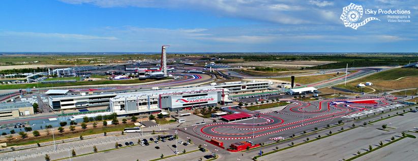 Aerial Photography Circuit of Americas