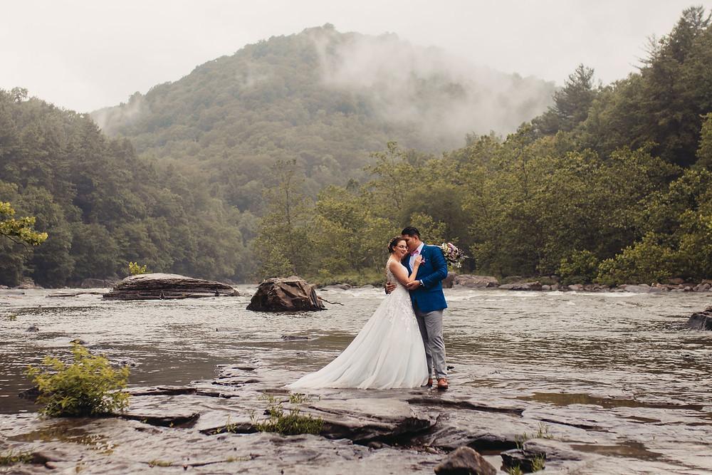 Ohiopyle State Park Adventure Wedding & Elopement - Pittsburgh Pennsylvania elopement Photographer