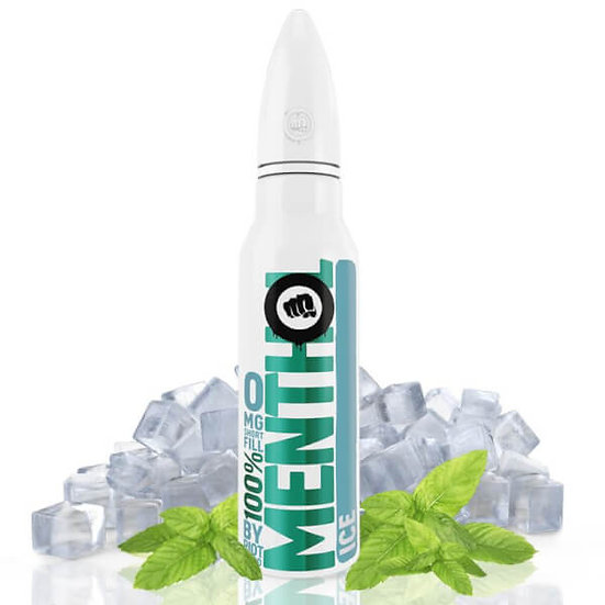 Riot Squad - 100% Menthol Ice 50ml Shortfill