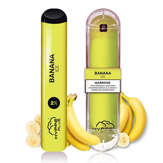 HYPPE Bars - Banana Ice 20mg