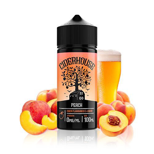 Ciderhouse – Peach 100ml Shortfill