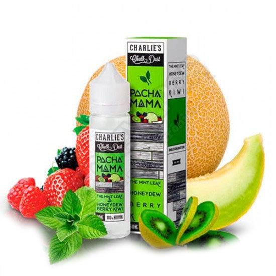Pacha Mama - The Mint Leaf, Honeydew and Berry Kiwi 50ml Shortfill