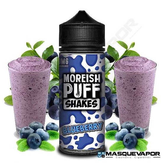 Moreish Puff - Shakes Blueberry 100ml Shortfills