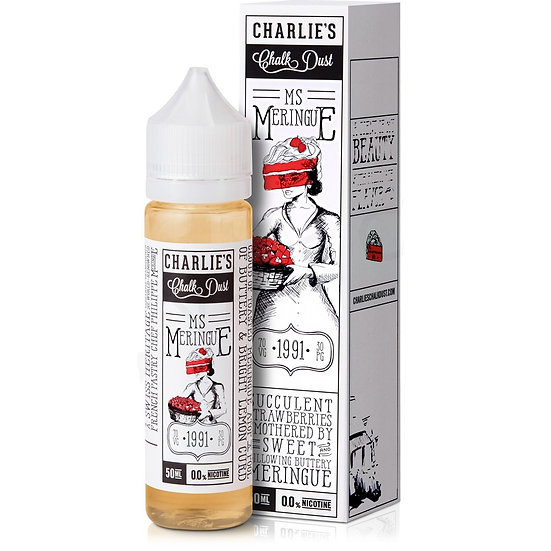 Charlie's Chalk Dust - Ms Meringue 50ml Shortfill