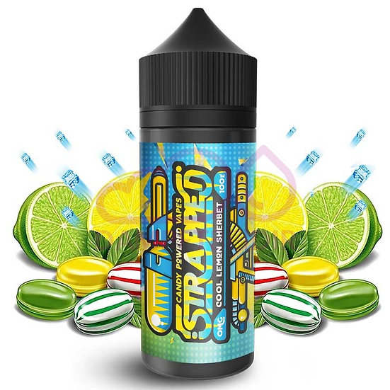 Strapped - Cool Lemon Sherbet 100ml Shortfill