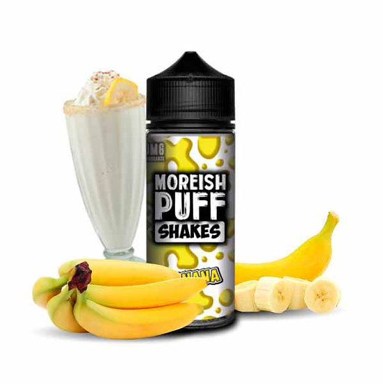 Moreish Puff - Shakes Banana 100ml Shortfill