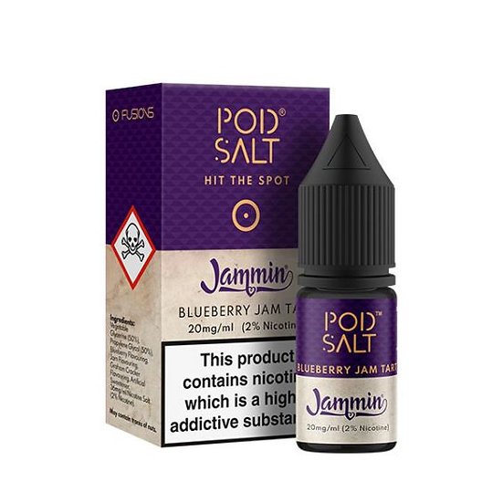 Pod Salt - Jammin Blueberry Jam Tart 20mg 10ml