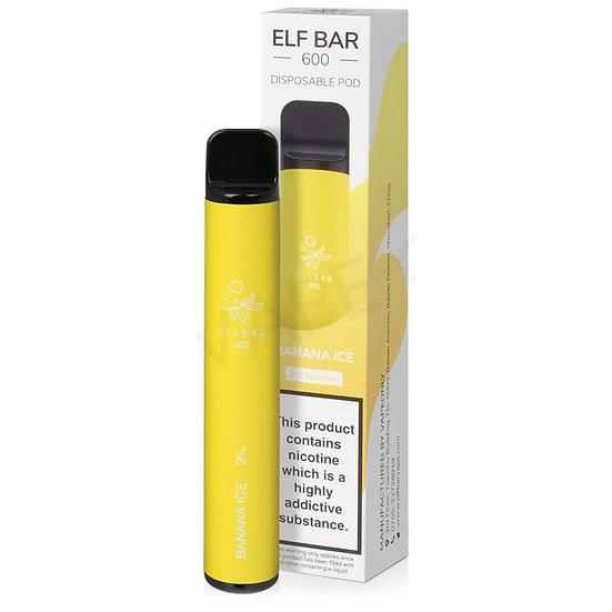 Elf Bar 600 - Banana Ice 20mg