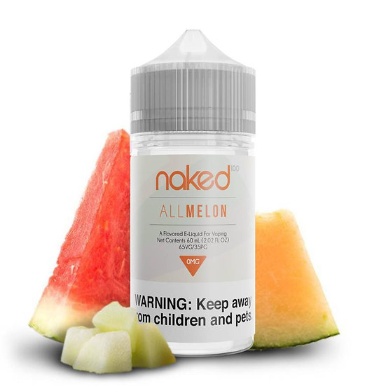 Naked - All Melon 50ml Shortfill