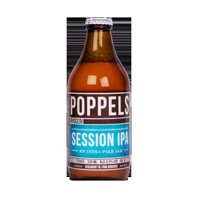 Poppels Session IPA 330ml bottle